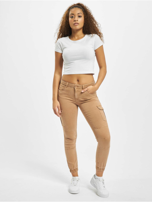 Only Cargo pants onlMissouri Reg Ank Life Noos brown