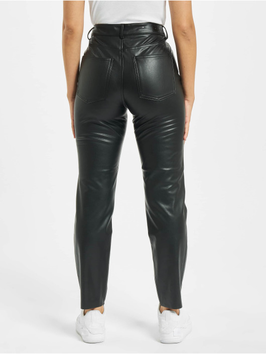 Only Chino pants onlEmily High Waist St Ank Faux Noos black