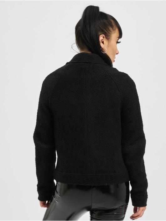 Only Lightweight Jacket onlAsha Wool Biker black