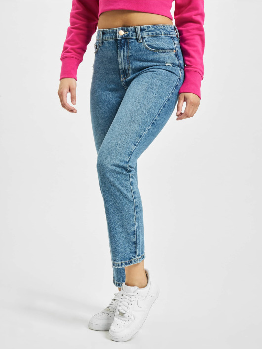 Only Mom Jeans onlEmily Life High Waist MAE259 blue