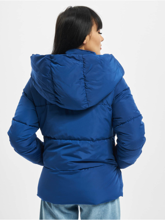 Only Puffer Jacket onlSara Short blue