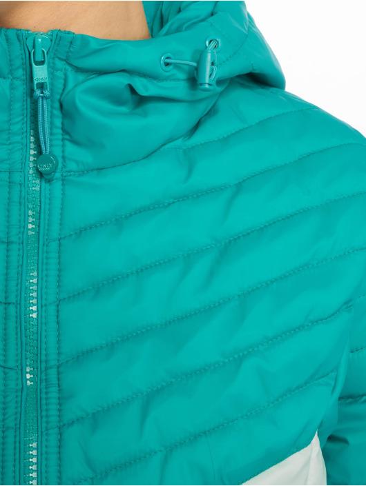 Only Puffer Jacket onlDemi Blocked green