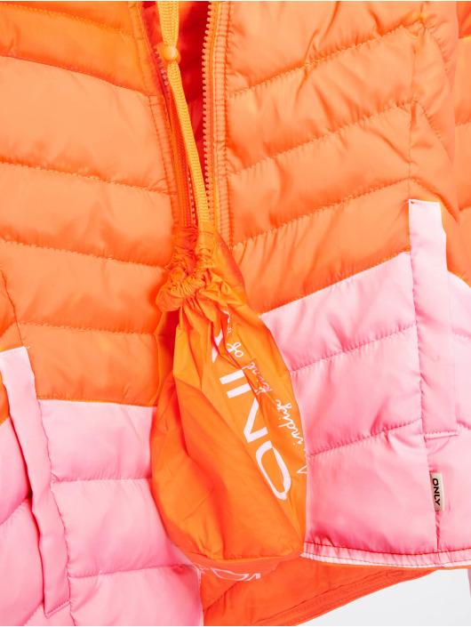 Only Puffer Jacket onlDemi Blocked orange