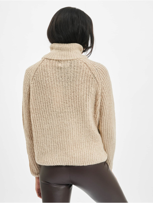 Only Pullover onlVega Wool Knit beige
