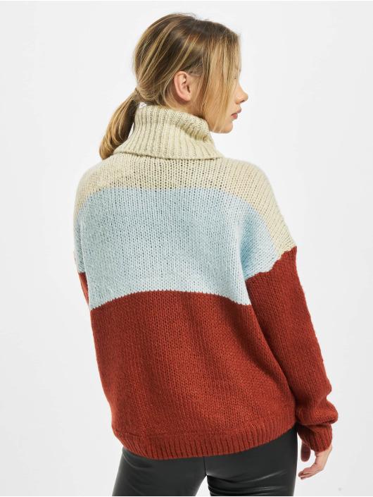 Only Pullover onlManhattan Rollneck Knit beige