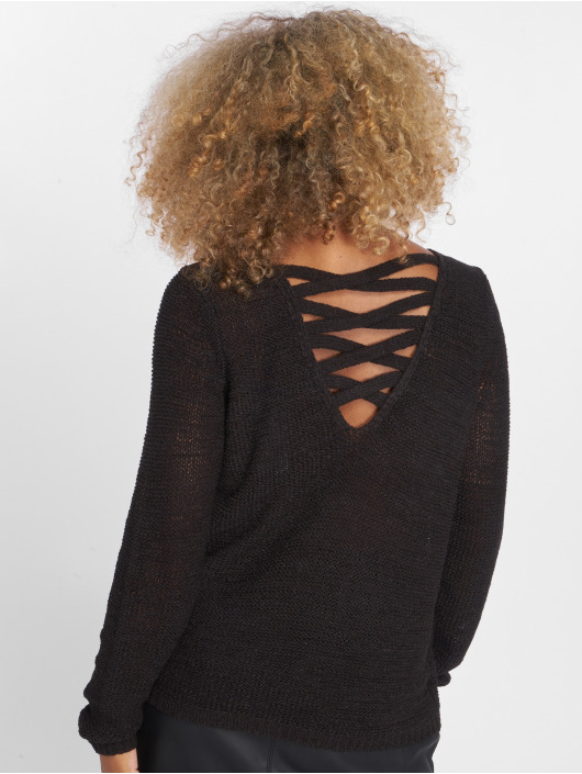 Only Pullover onlGabbi String black