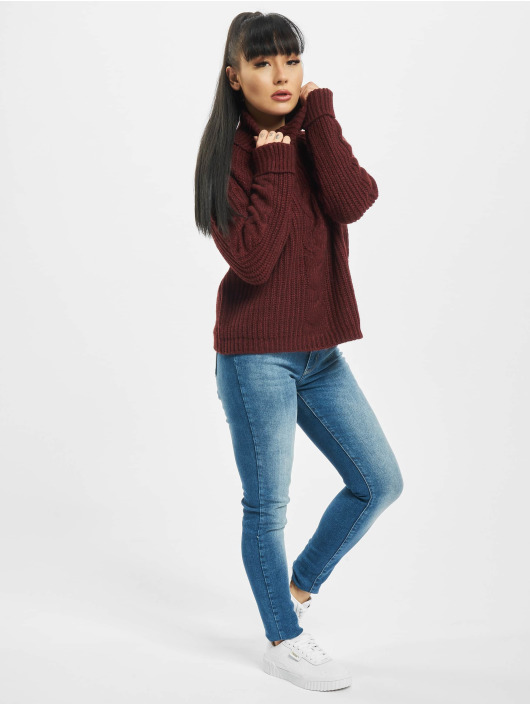 Only Pullover onlDaisy red