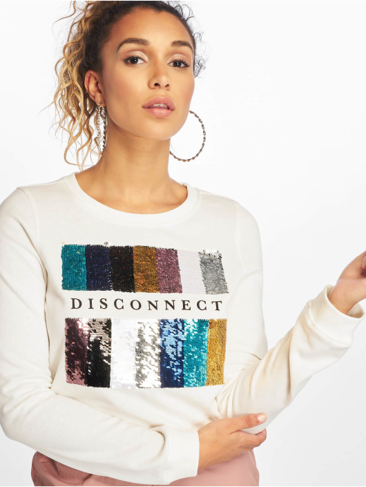Only Pullover onlSound Glitter Box white