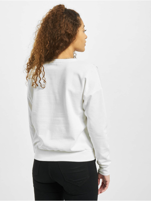Only Pullover onlLuxi Life Leaf white