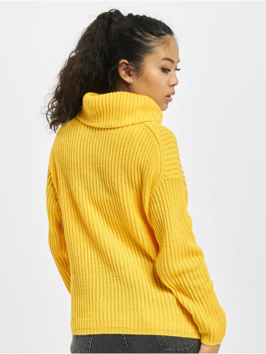 Only Pullover onlCourtney Life Rollneck yellow