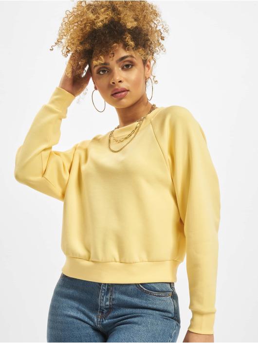 Only Pullover onlJoy Raglan O-Neck yellow
