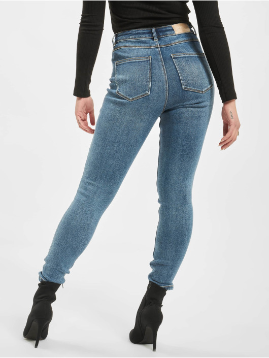 Only Skinny Jeans onlMila High Waist blue