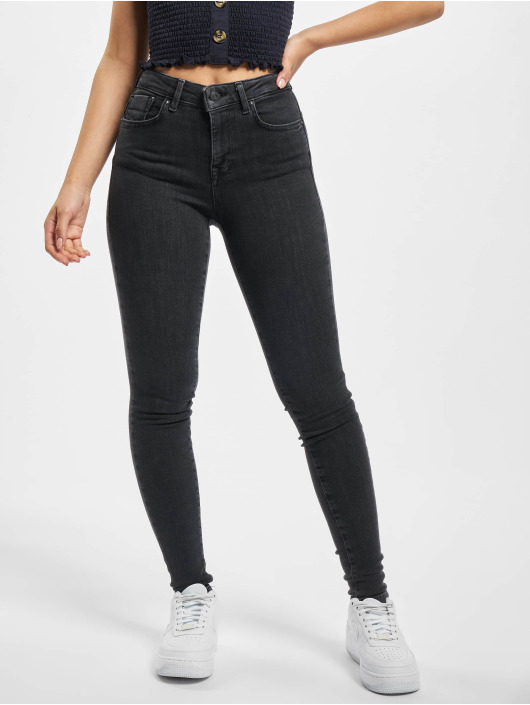 Only Skinny Jeans onlPower Mid Push Up gray