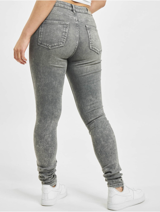Only Skinny Jeans onlBlush Mid Waist ANA0918 gray