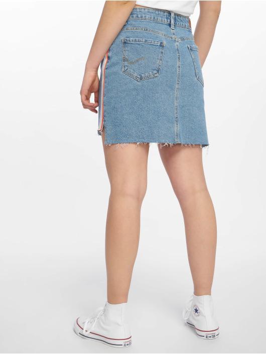 Only Skirt onlElifa Mid Ribbon Denim blue