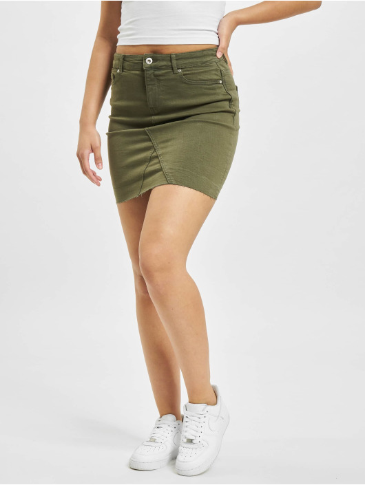 Only Skirt onlFan Life Col Reg olive