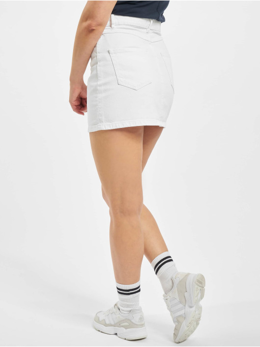 Only Skirt onlRose A-Shape Color white
