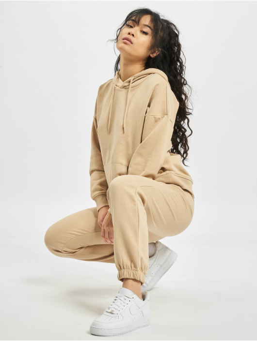 Only Sweat Pant onlFeel Life brown