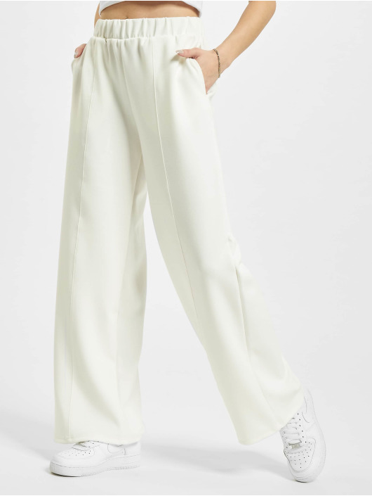 Only Sweat Pant onlScarlett Wide white