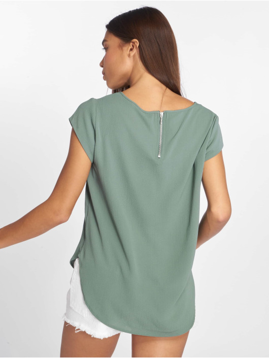 Only T-Shirt onlVic Solid Woven green