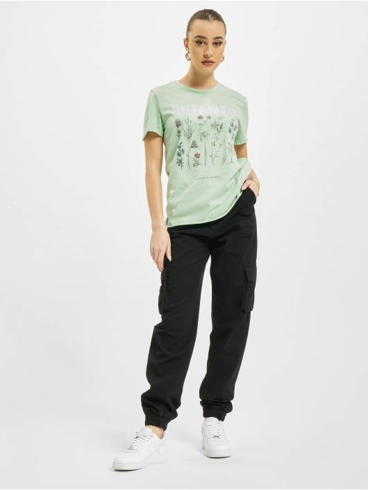 Only T-Shirt onlLucy Life Reg Wildflower green