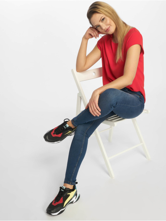 Only T-Shirt onlVic Solid Noos red