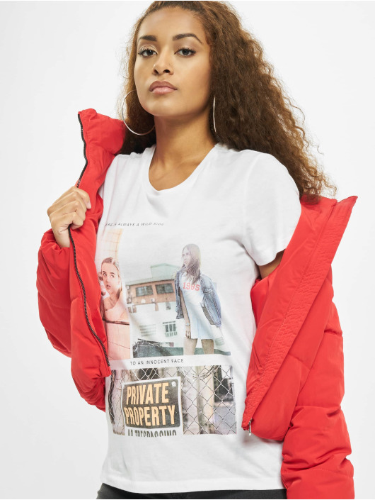 Only T-Shirt onlRuby Life Reg white