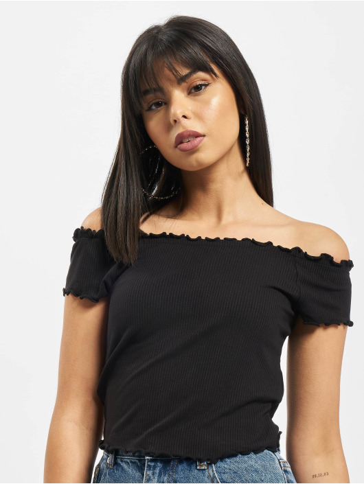 Only Top onlNaroma Off Shoulder black