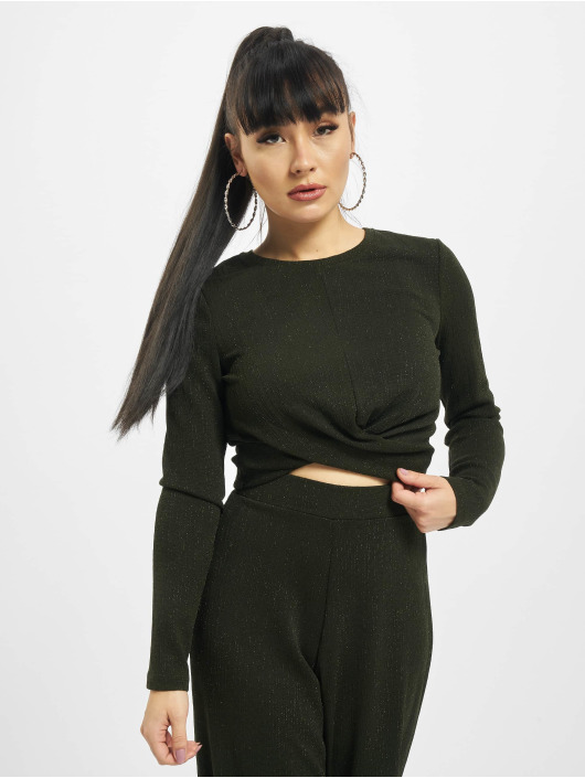 Only Top onlNew Queen Glitter olive