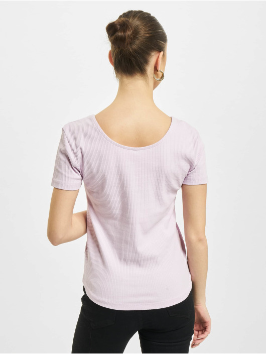 Only Top onlSimple Life Button purple