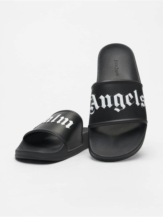 Palm Angels Sandals Pool black