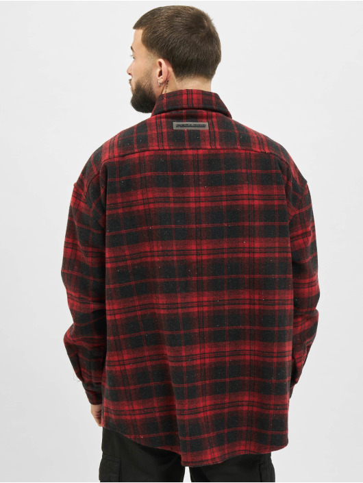 PEGADOR Shirt Livno Oversized red