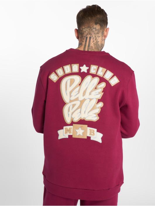 Pelle Pelle Pullover Soda Club red