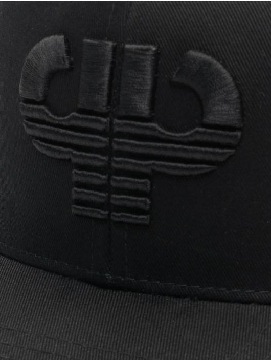 Pelle Pelle Snapback Cap Icon Curved black
