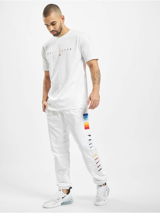 Pelle Pelle Sweat Pant Colorblind white