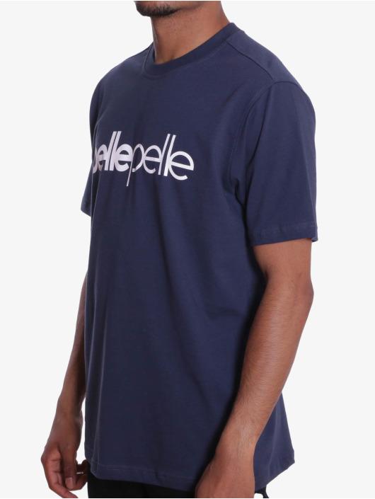 Pelle Pelle T-Shirt Back 2 The Basics purple