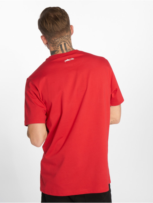 Pelle Pelle T-Shirt Back 2 The Basics red