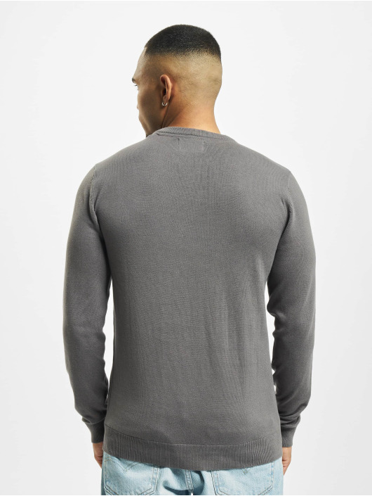 Petrol Industries Pullover R-Neck Knit gray