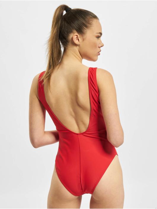 Pieces Bathing Suit pcBenice red