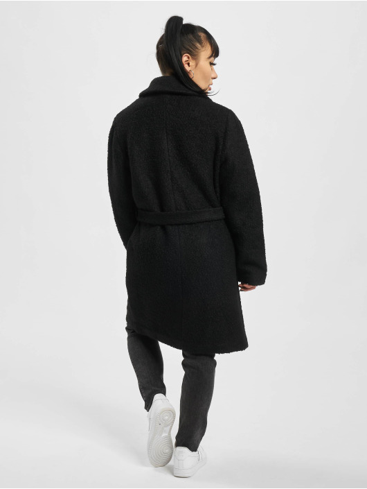 Pieces Coats pcEvelyn Noos Wool black