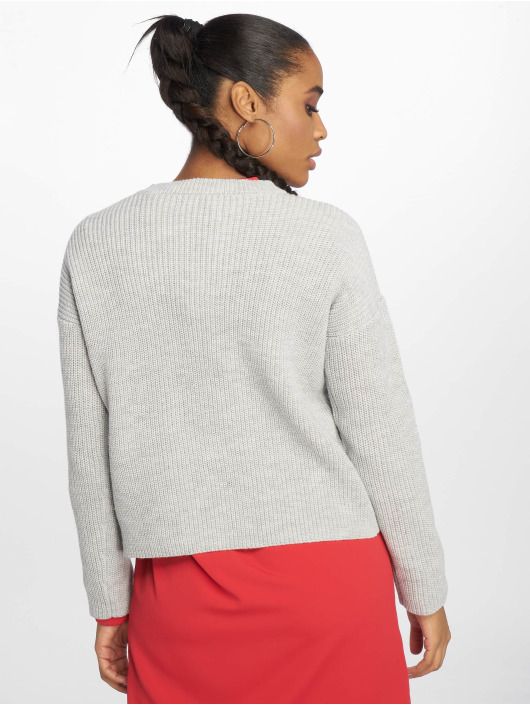 Pieces Pullover pcMarie Knit gray
