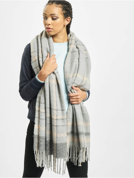 Pieces Scarve / Shawl pcElinor Long Noos gray