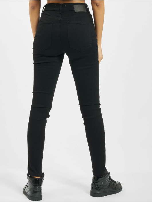 Pieces Skinny Jeans pcNora High Waist Ankle Noos black