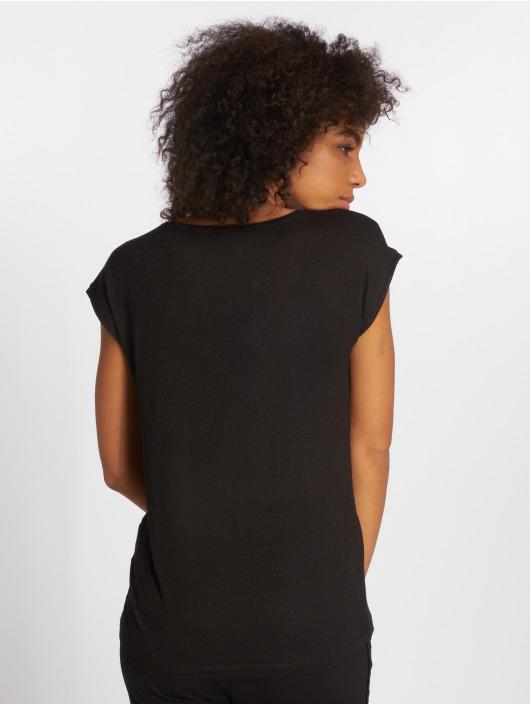 Pieces T-Shirt pcBillo Lurex Stripes black