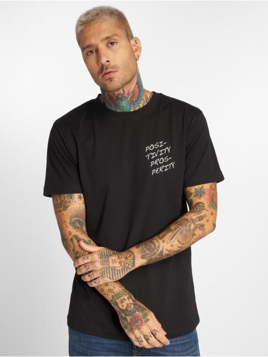 Pink Dolphin T-Shirt Posi Box black