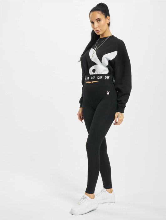 Playboy x DEF Leggings/Treggings Small Logo black