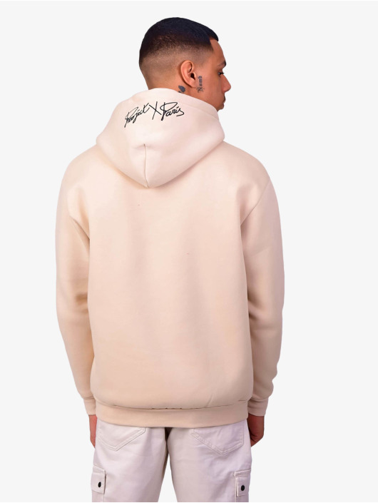 Project X Paris Hoodie Logo Embroidery beige