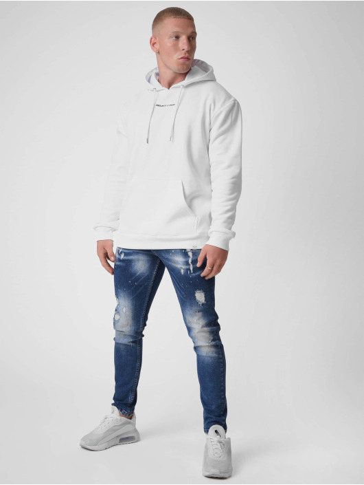 Project X Paris Hoodie Basic Print white