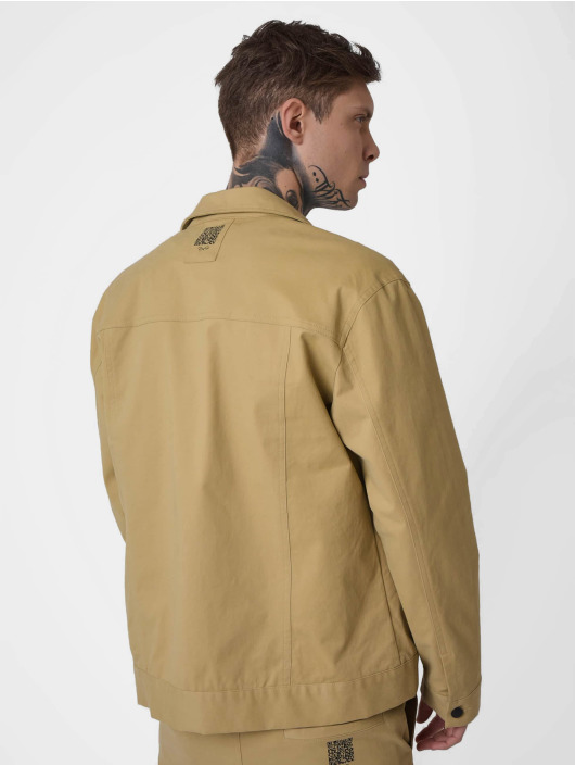 Project X Paris Lightweight Jacket Transparent Pocket beige
