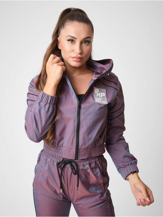 Project X Paris Lightweight Jacket Iridescent Cropped length purple